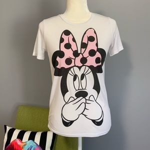 Disney Minnie Mouse Graphic Short Sleeve Tee C9